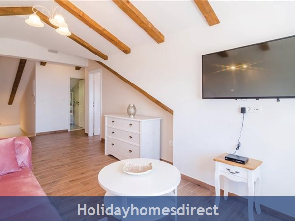 3 Bedroom Villa With Pool In Seaside Brsecine Near Dubrovnik, Sleeps 6 ( Du167): Image 19