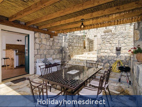 3 Bedroom Villa With Pool In Seaside Brsecine Near Dubrovnik, Sleeps 6 ( Du167): Image 22