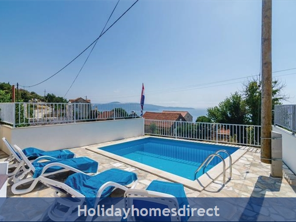 3 Bedroom Villa With Pool In Seaside Brsecine Near Dubrovnik, Sleeps 6 ( Du167): Image 17