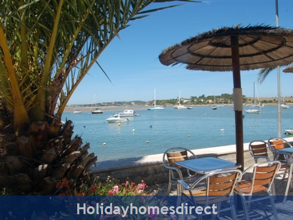 RIA DE ALVOR WITH VERY GOOD RESTAURANTES