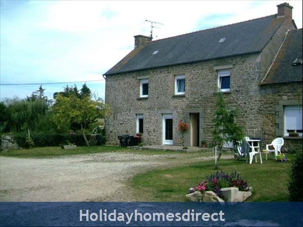 Holiday Homes Brittany with Heated Salt Water Pool