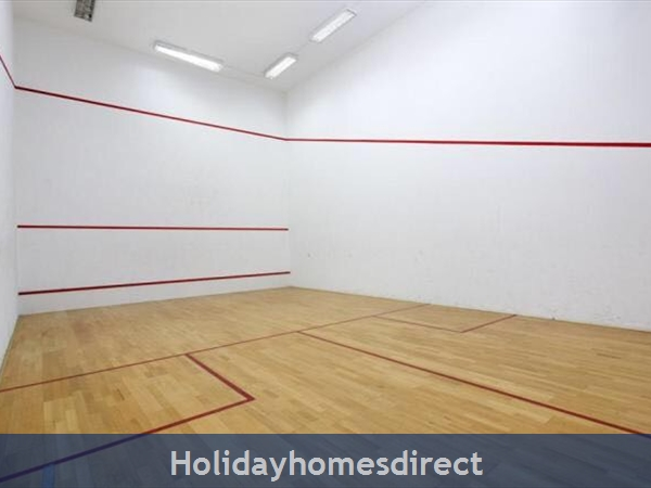 Solario De Sao Jose,3 Lovely Apartments From 450 Euros A/w, Games Room,free Squash Court,swing Park,bbq's On The Roof,sauna And A Free Gym.: Image 9