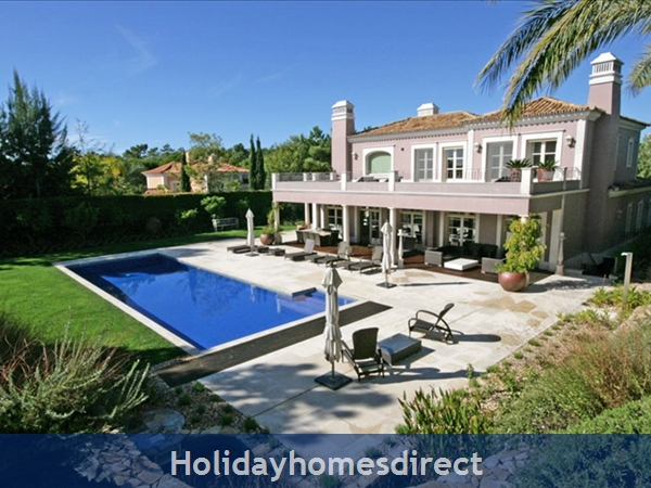 Stunning 5 bedroom villa at Quinta Do Lago (2255)
