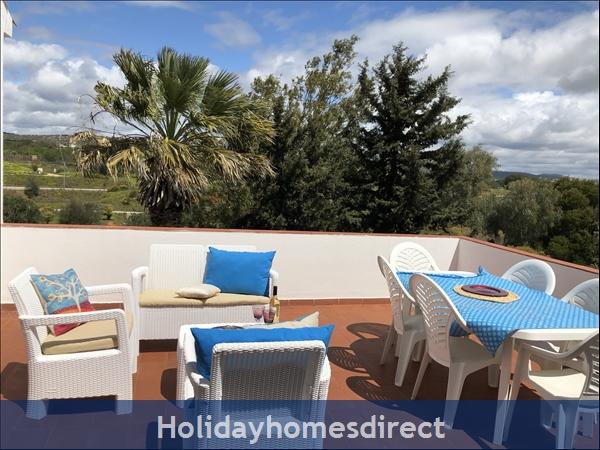 Villa Vaniana, Olhos De Agua: Balcony 2-Sun Deck, Panoramic views of Vilamoura