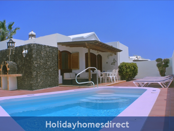 Villa Hibiscus, 3 Bedroom Villa, Puerto Del Carmen, Canary Islands